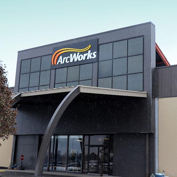 Arc Works Building on Lyell Avenue